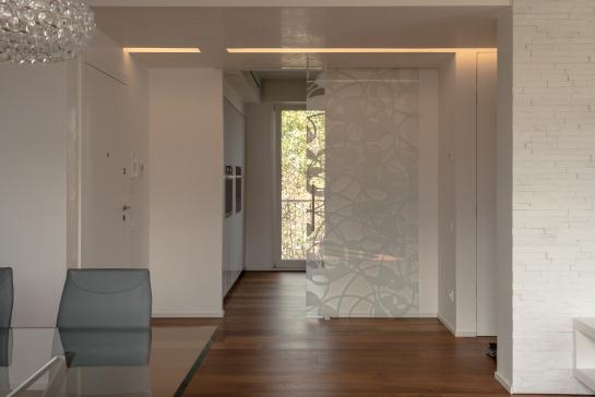 CASA F - Ristrutturazione edilizia con ridistribuzione interna di unità immobiliare