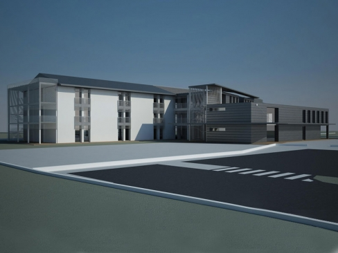 Nuova costruzione di un R.S.A. per 120 ospiti